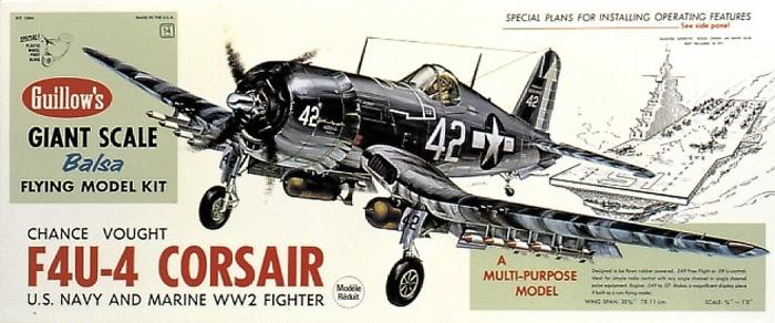F4U-4 Corsair (781mm)