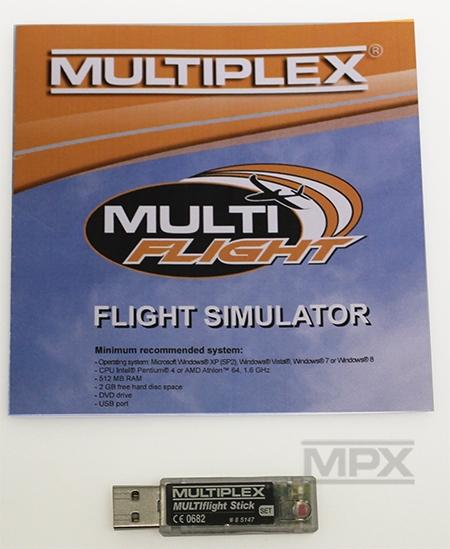 85147 USB-Interface MULTIflight Stick vč. MULTIflight CD (Windows)