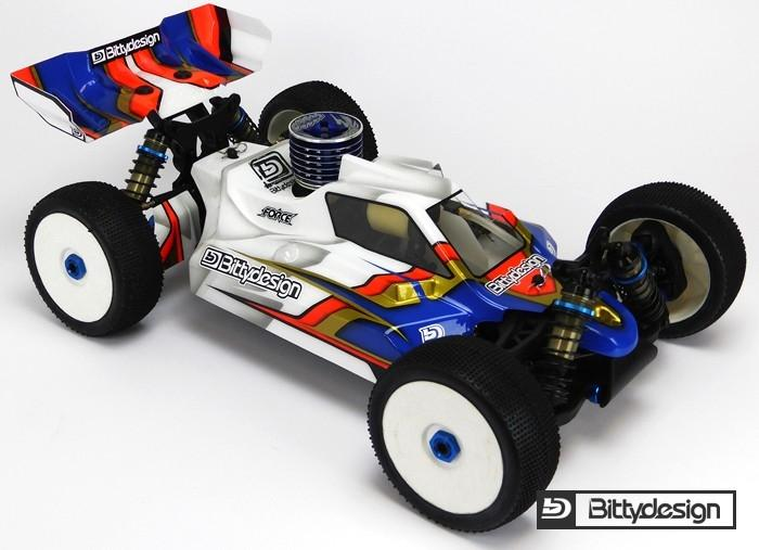 Force čirá karoserie - ASSOCIATED RC8 B3