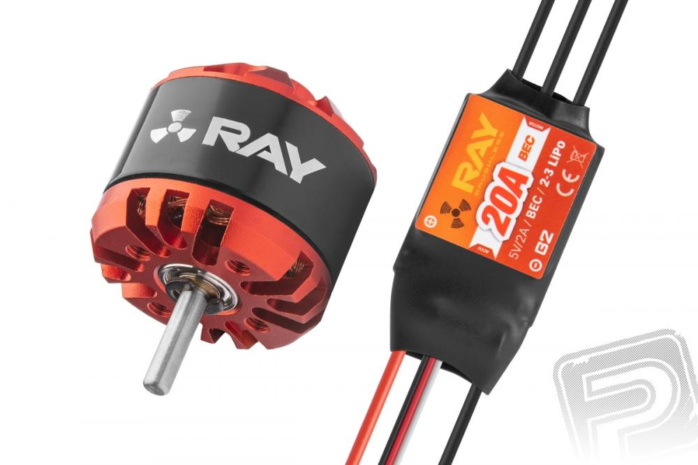 Combo set RAY G3 C2826-1000 + RAY G2 20A regulátor