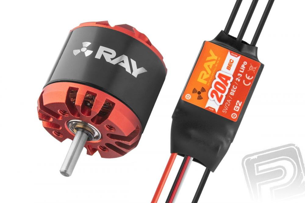 Combo set RAY G3 C2830-1050 + RAY G2 20A regulátor