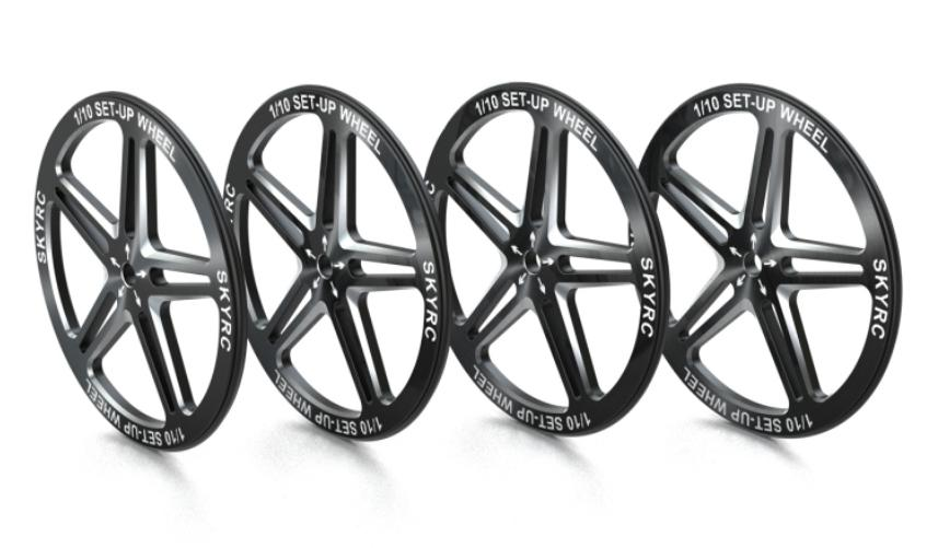 1/10 Set-up Wheel (Black)