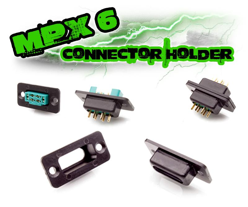 mpx 6 connector holder